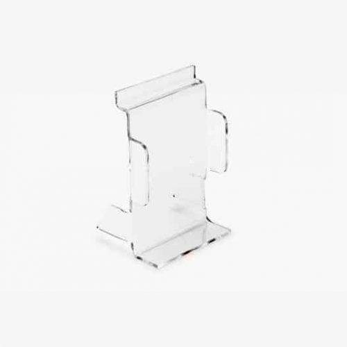Acrylicic Slatwall phone display 6cm