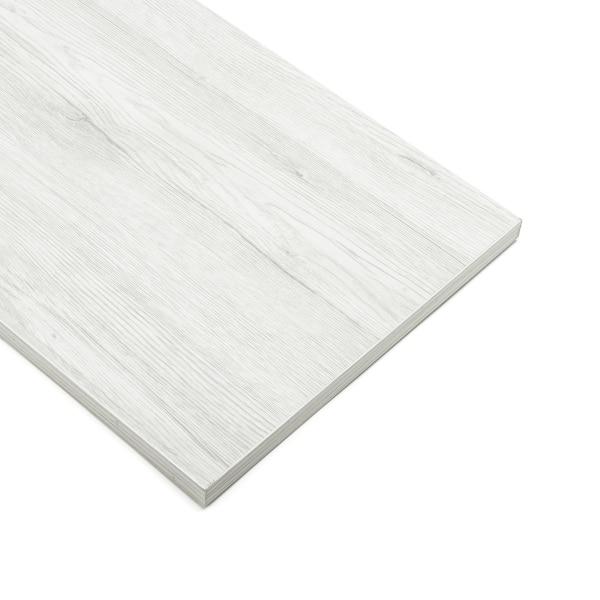 Slatwall Shelves White Oak (40cmx120cm)