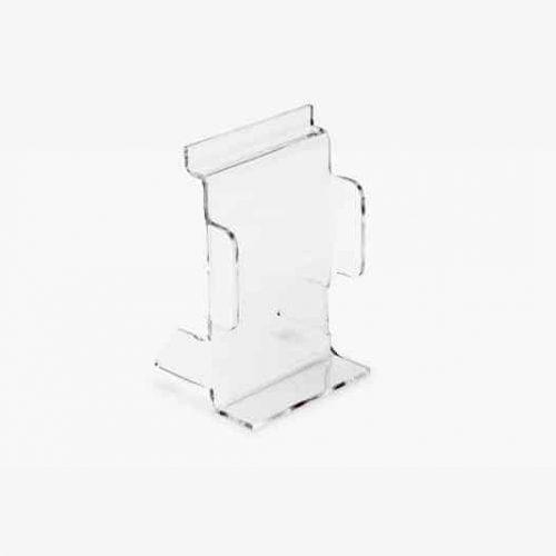 Acrylicic Slatwall phone display 8cm