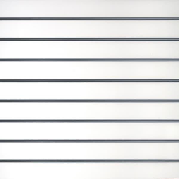 Slatwall White 10cm