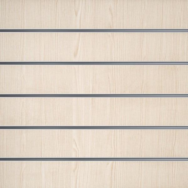 Slatwall White Ash 15cm