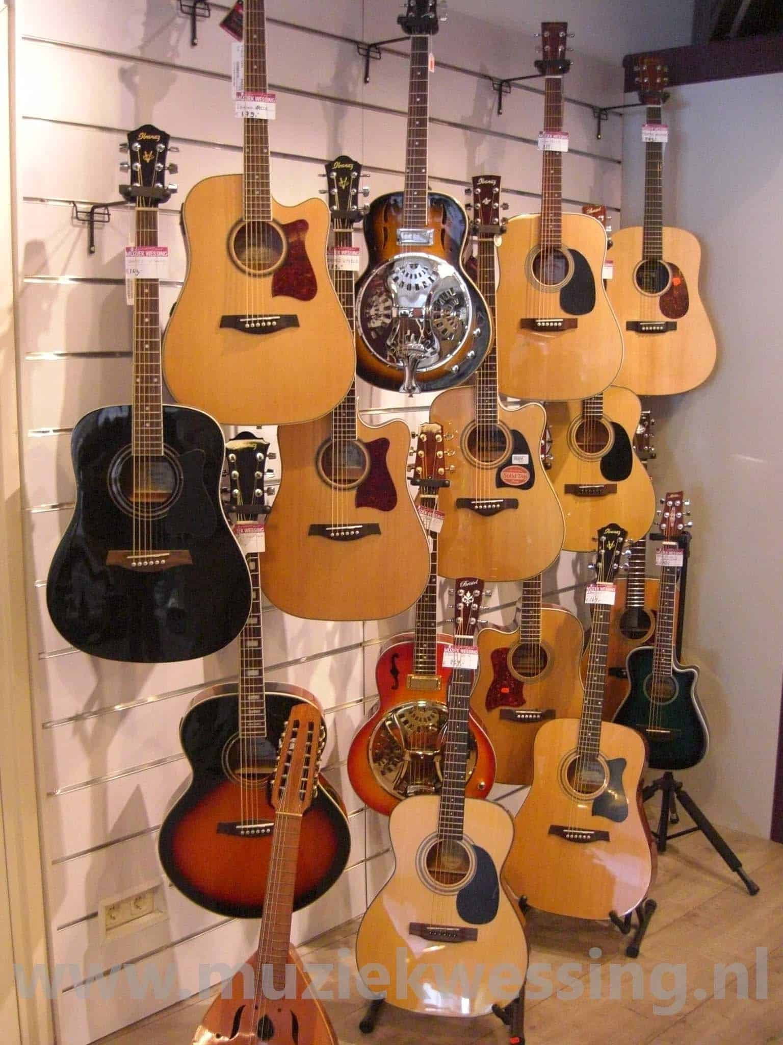 Guitars Wall