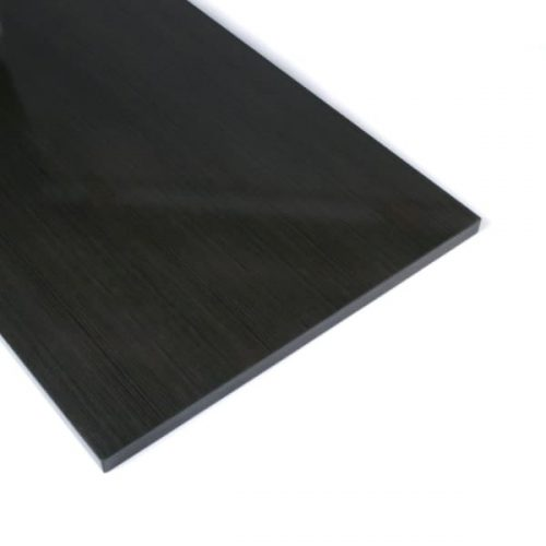 Slatwall Shelves Anthracite Wood Grain(40cmx120cm)